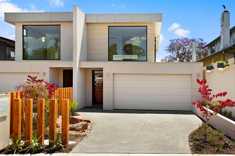 The go to builders for dual occupancy in melbourne bayside for Dual occupancy home designs corner block